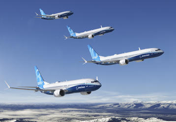 737 MAX product lineup