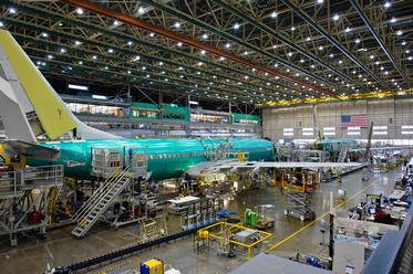737 Next Generation Assembly Line, 2013