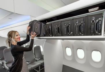 Boeing's Space Bins Make Room for More Bags on 737s